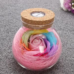 Rose-Fairy-Light-Bottle-Creative-Romantic-RGB-LED-Dimmer-Light-16-Colors-NEW