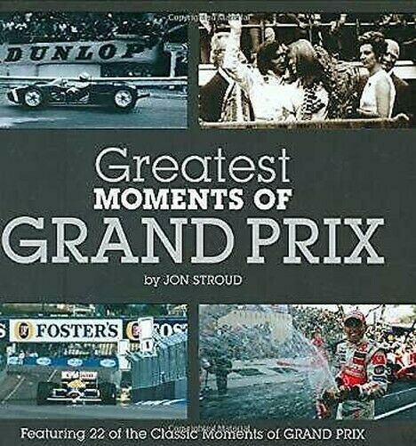 Greatest Moments Von Grand Prix Hardcover Jon Stroud