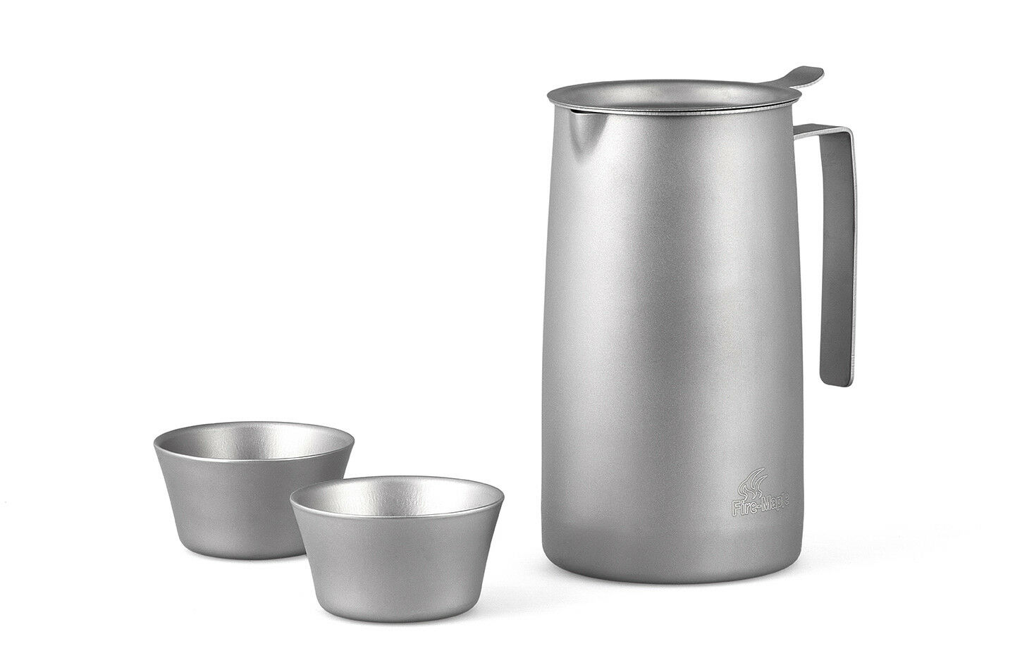 Fire Maple FMP-T320 Ultralight Titanium Pot  Two Cups with Tea Filter  70% off