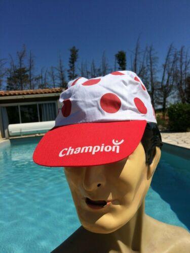 TOUR DE FRANCE Casquette Cap Hat Gorra Champion Montagne Climber Cycling Coton