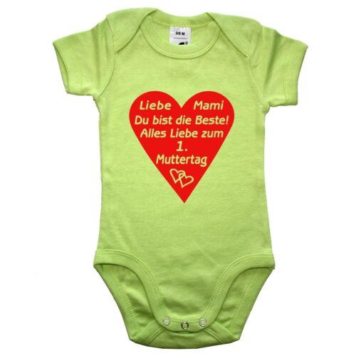 SOLs Babybody Baby Body Muttertag Vatertag Muttertagsgeschenk Vatertagsgeschenk