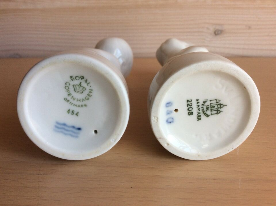Piner, B&G / Royal Copenhagen