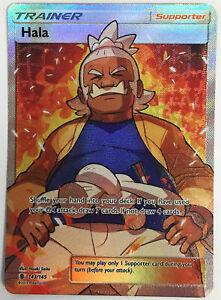 Losse kaarten HALA 143/145 FULL ART Pokemon TCG S&M Guardians Rising Ultra Rare NEW
