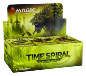 Magic: The Gathering Time Spiral Remastered Draft Booster Box: Factory Sealed