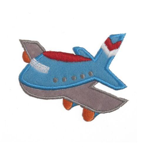 CFM2\062X Craft Factory Hierro O Coser En Tela Motivo Apliques avión-cada uno