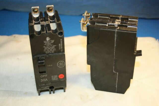 type TEY GE TEY230 circuit breaker 2pole 30amp 480v warranty