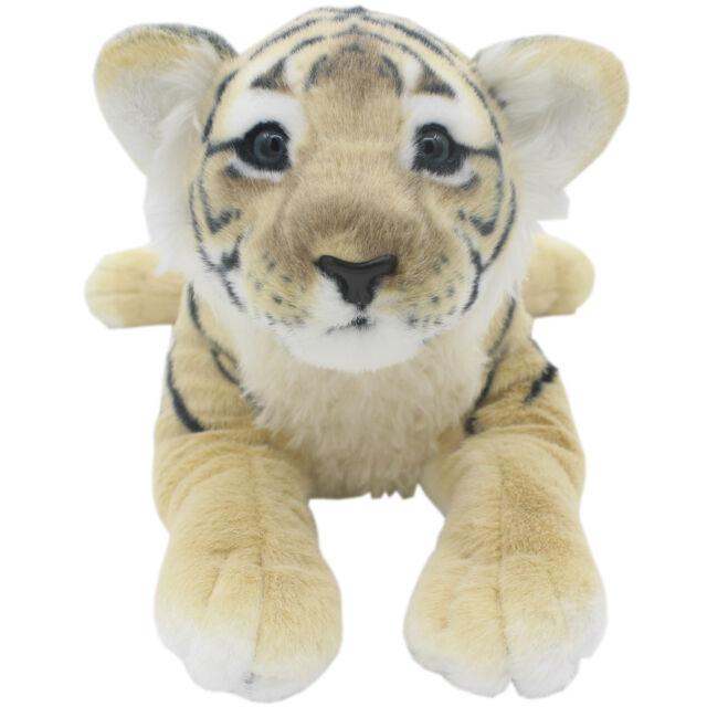 Tagln Realistic The Jungle Animals Stuffed Plush Lifelike Toys