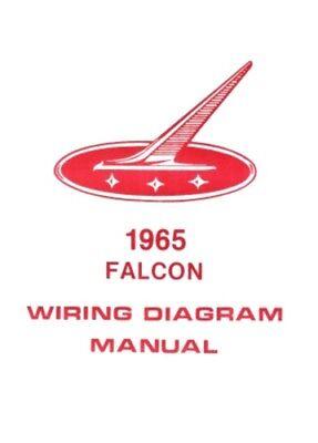 FORD 1965 Falcon Wiring Diagram Manual 65 | eBay