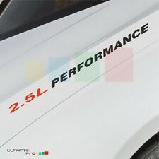 2.5L PERFORMANCE Decal sticker for Nissan Altima Rogue Rogue Select s sv tuning