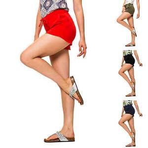 Only-Damen-Sommer-Shorts-Bermudas-Comfort-Fit-Damenhose-Damenshorts-SALE