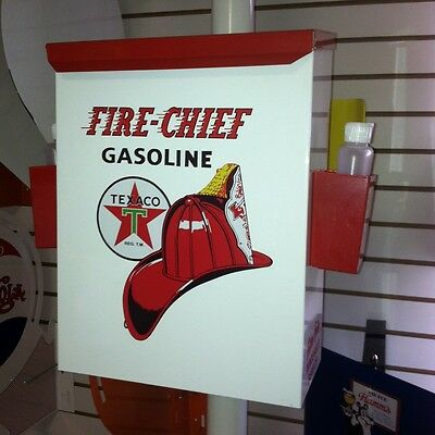 FIRECHIEF 1950S GAS OIL STATION TOWEL BOX DISPENSER NEW
