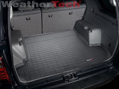 Weathertech Trunk Cargo Liner For Toyota 4runner W O 3rd Row 2003 2009 Black Ebay