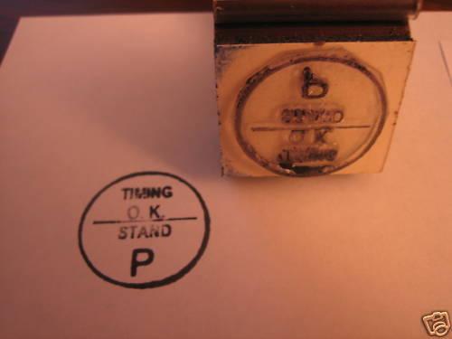 76 77 78 79 80 81 Valve Cover-Timing OK Final Stamp Trans Am PONT Pontiac Stand