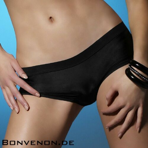 Atlantis Panache Panty schwarz Panties Hipster Solutions S M L XL 5944