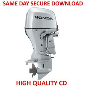 honda bf20a bf25a outboard motor service repair manual owners rh ebay com Service Station Parts Manual