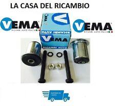 KIT 2 SILENT BLOCK BOCCOLA BRACCIO OSCILLANTE POSTERIORE PANDA 169 -4X4 DA 2003