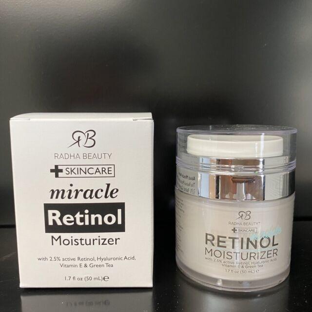 RADHA BEAUTY MIRACLE RETINOL MOISTURIZER 1.7oz/50ml   eBay