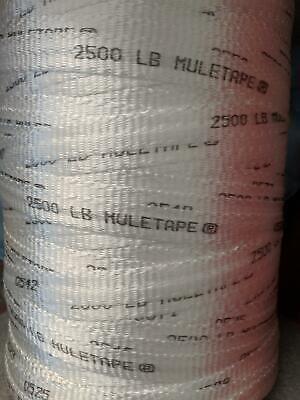 """Mule tape 200 ft 3//4/"""" 2500 Lb Test String Bull tape 200 ft"""