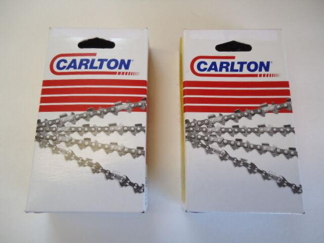 Nuevo paquete de 2 Cadena Cochelton Motosierra 28  3 8 .050 91 enlaces A1LM-091G Hecho en EE. UU.