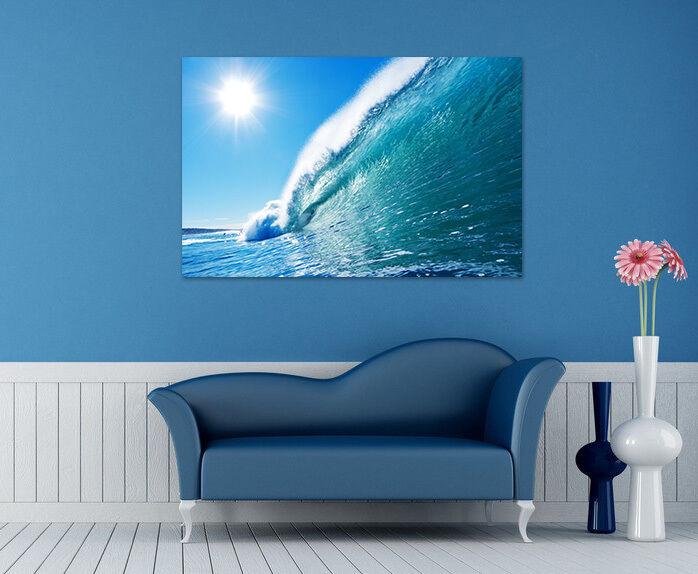 3D Blau Riesige Wellen Himmel 9 Fototapeten Wandbild BildTapete AJSTORE DE Lemon
