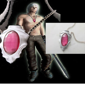 New-movie-Devil-May-Cry-Cosplay-Prop-Dante-Red-Ruby-Necklace-cosplay-accessories