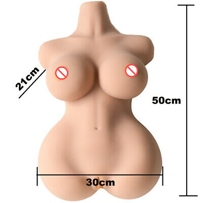 Half the silicone doll with large breasts Hanidoll Tpe Half Body Big Boobs Sex Doll With 3 Holes Silicone Mature Sex Toy Ebay