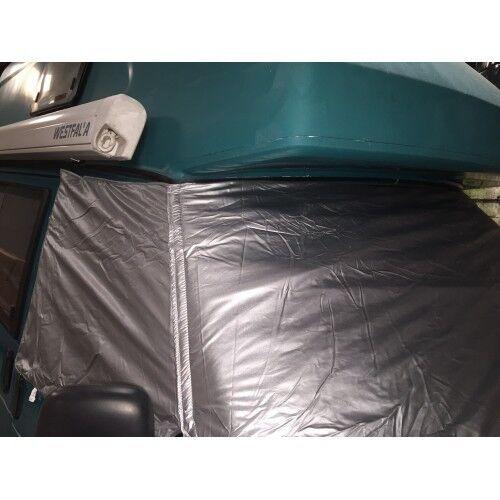 Deluxe thermo externo del parabrisas y ventana de cabina Estera para T4 C9593