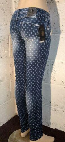 Donna Ragazze Denim Jeans con macchie