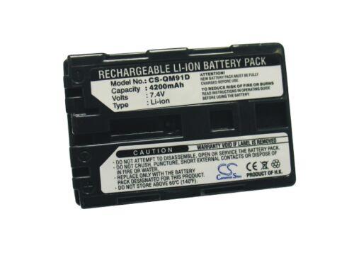 Reino Unido Batería Para Sony Ccd-trv108 Ccd-trv108e Np-qm91d 7.4 v Rohs