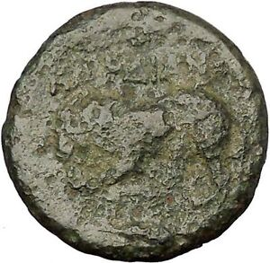 KARDIA-in-THRACE-350BC-Persephone-Lion-Authentic-Ancient-Greek-Coin-RARE-i52587