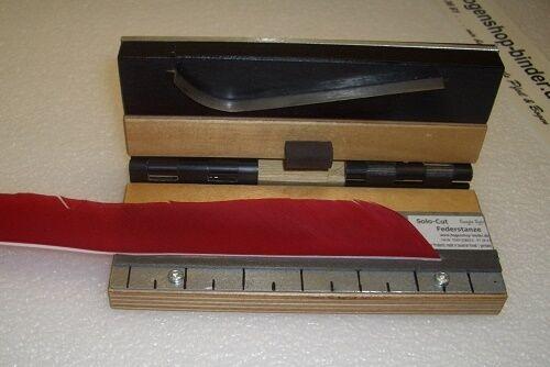 Federstanze SOLOCUT STRAIGHT STRAIGHT STRAIGHT GERADE Feathercutter Federn stanzen Cutter Pfeilbau bc5a76