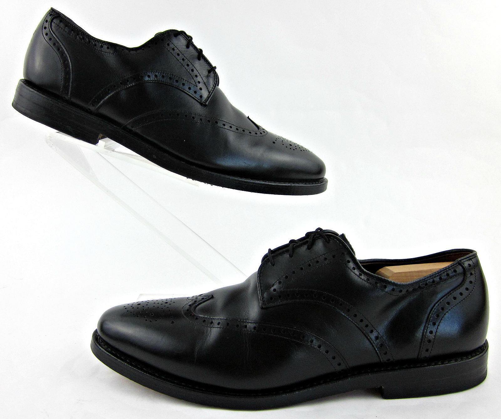 Allen Edmonds  Wingtip Dress scarpe nero Leather Sz 12D Fantastic Condition  divertiti con uno sconto del 30-50%