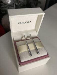 Image is loading PANDORA -Genuine-Shooting-Stars-Drop-Earrings-Sterling-Silver- 2ed3aa9e2ca