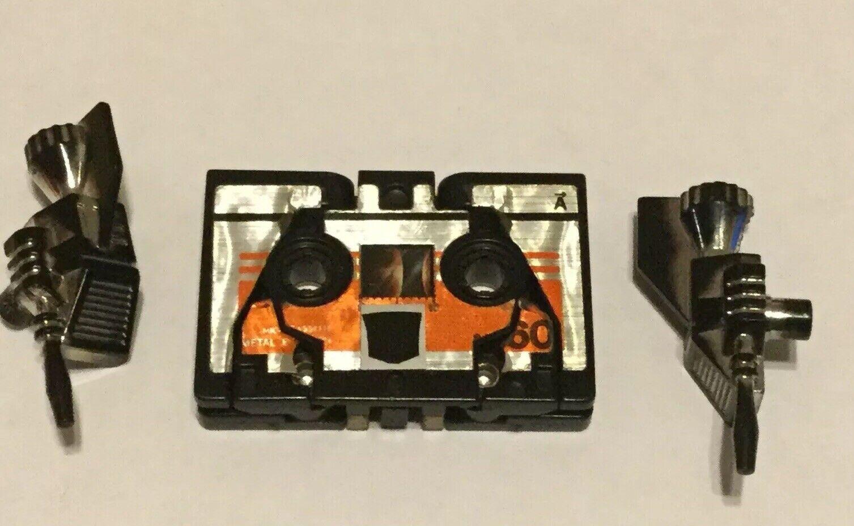 Transformers ORIGINALE G1 1984 CASSETTE BUZZSAW COMPLETO