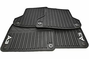 2005 13 Audi A3 All Weather Rubber Floor Mats Set Of 4 8p1061450041
