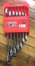 New Craftsman Cmmt87019 7pc Metric 12pt Ratcheting Wrench Set 7 Piece Combo