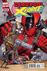 Marvel-Deadpool-vs-X-Force-Comic-Book-2-2014-Limited-Series-Swierczynski-NM