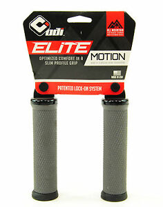 ODI ELITE FLOW LOCK-ON GRAPHITE BMX-MTB BICYCLE GRIPS