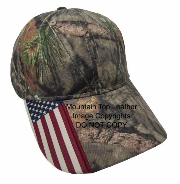 Buy Mossy Oak Camo American Flag Visor Baseball Cap Hat online  15b9eec886a