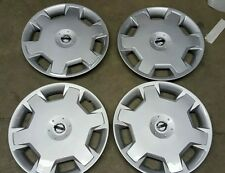 """Set Of 4 53072 NEW 15"""" Hubcap Wheelcover 7 8 9 10 11 12 13 14  Nissan Versa Cube"""