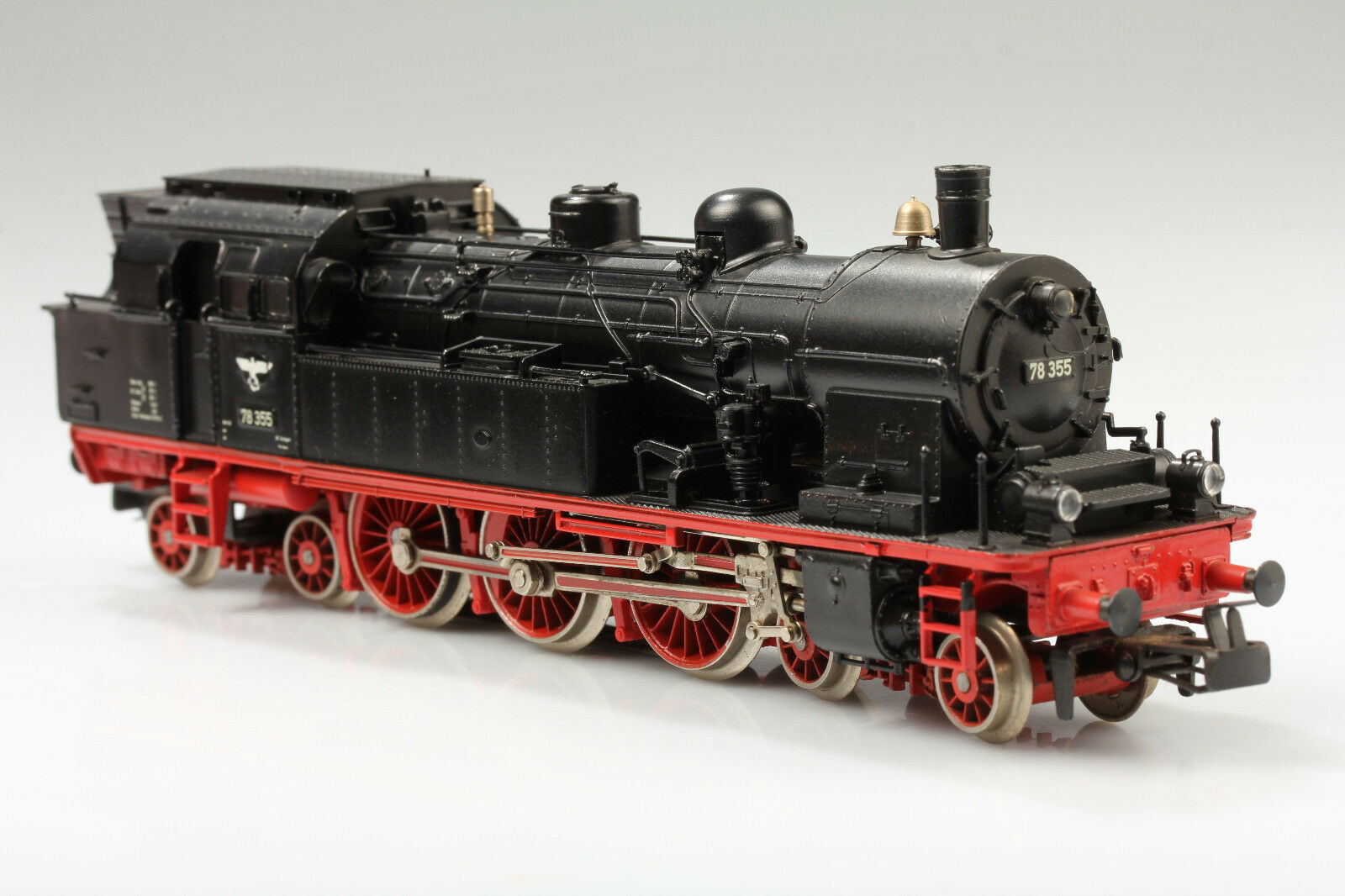Märklin h0 Steam Locomotive BR 78 355 läuft & schaltet & Licht OK