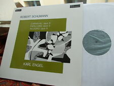 SCHUMANN: Carnaval Papillons Allegro   Karl Engel piano / Valois F stereo LP NM