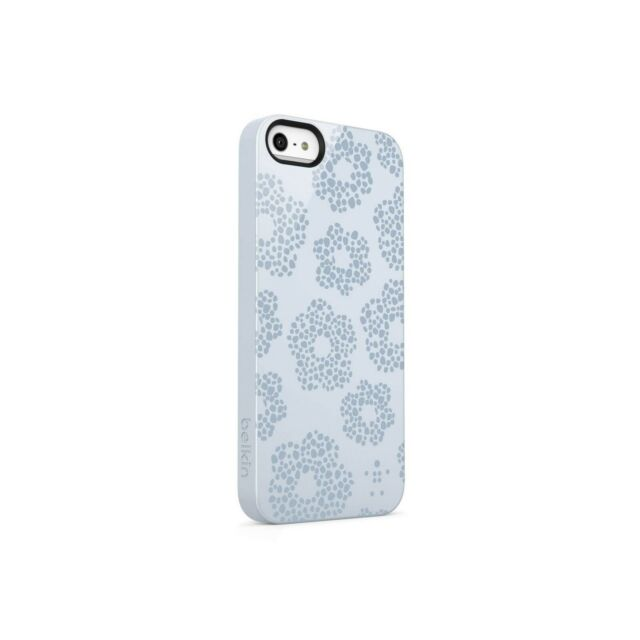 BELKIN CASE FOR IPHONE 5 5S SHIELD BLOOM ICE FLOWER PATTERN GLOSSS F8W172QEC02