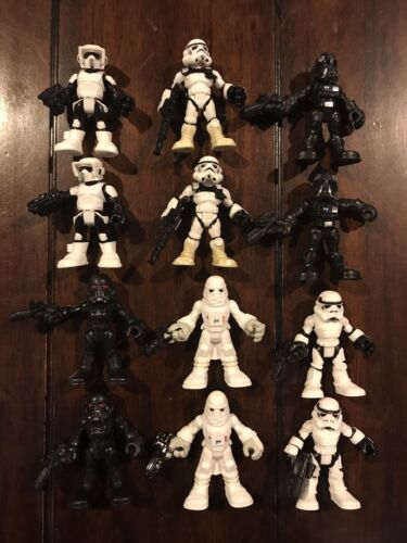 Star Wars Playskool Heroes Imperial Forces Lot Of 12 Figures Loose 100/% Complete