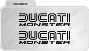 2-Adhesifs-Ducati-Monster-Bilinea-Reservoir-aussi-Bicolore