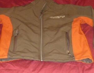 aed20080 BOYS 7-8 FREE COUNTRY FCXTREME FLEECE LINED SNOW JACKET CLEVELAND ...