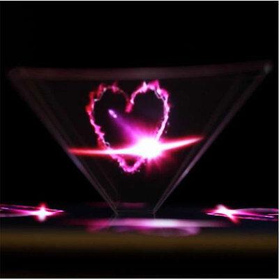 3D Hologramm Pyramid Display Projektor für Smartphone Universal für iPhone