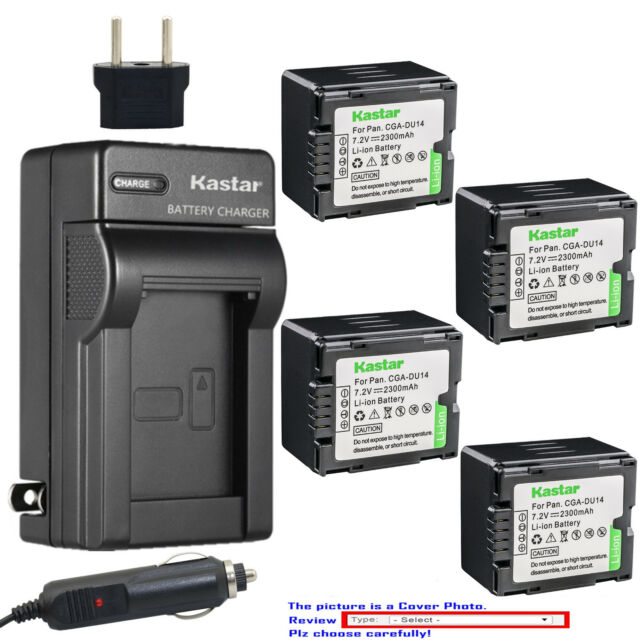LCD Quick Battery Charger for Panasonic NV-GS40 NV-GS50 NV-GS55 Camcorder NV-GS44