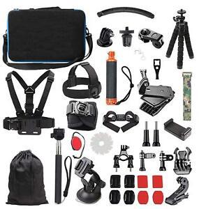 sélectionner pour le dédouanement meilleure valeur acheter en ligne Details about GoPro Hero 7 White Silver Black 6 5 4 Sports Action Camera  Accessories Kit 2018