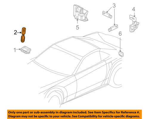 Cadillac GM OEM 07-08 XLR Keyless Entry-Remote Key Fob Transmitter 10354923